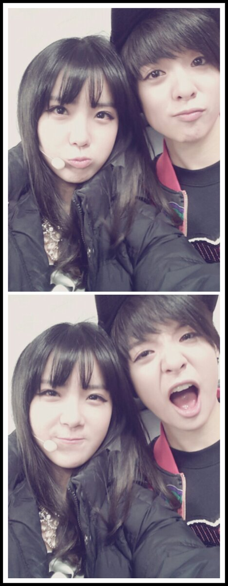 With Amber whom i haven t met  F(x) Amber Selca