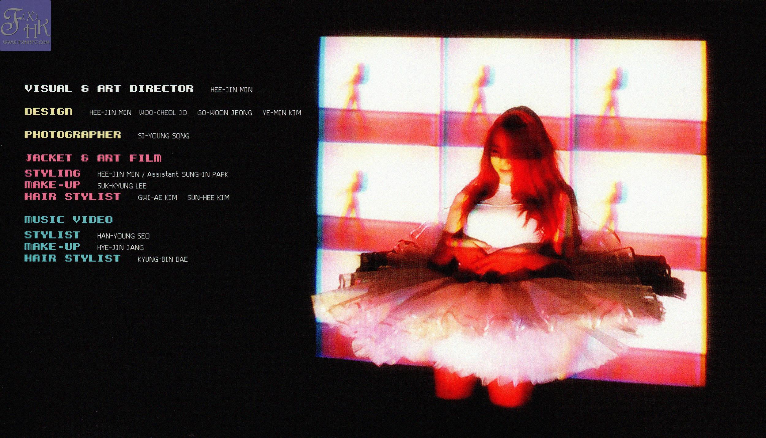 [HQ SCANS] f(x) 2nd Full Album 'Pink Tape' [49P] – f(♥) F(x) Krystal Pink Tape