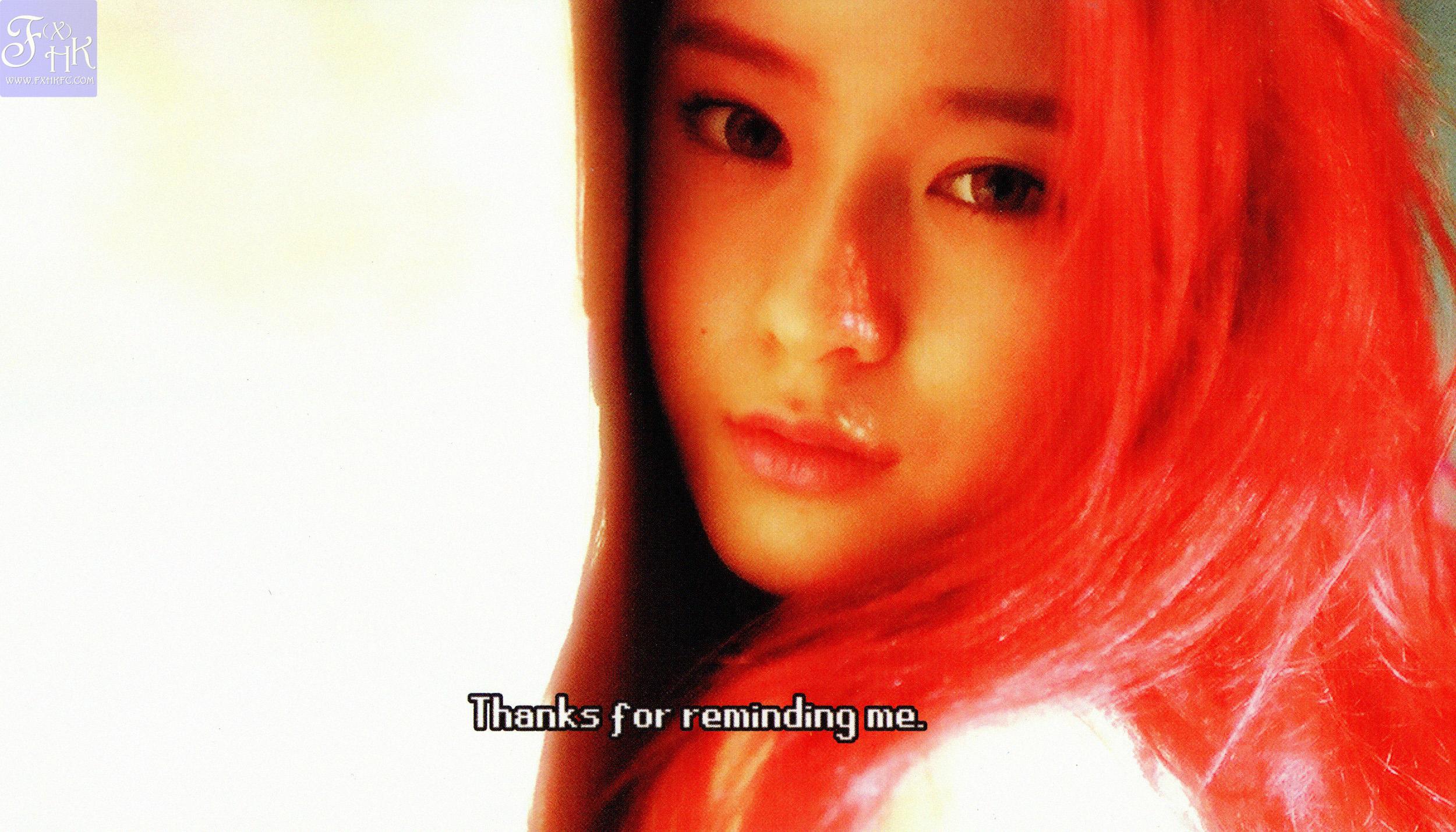 [HQ SCANS] f(x) 2nd Full Album 'Pink Tape' [49P] – f(♥) F(x) Amber Pink Tape